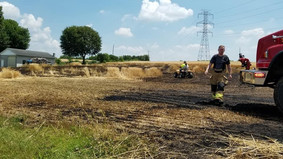Wheat Field Fire