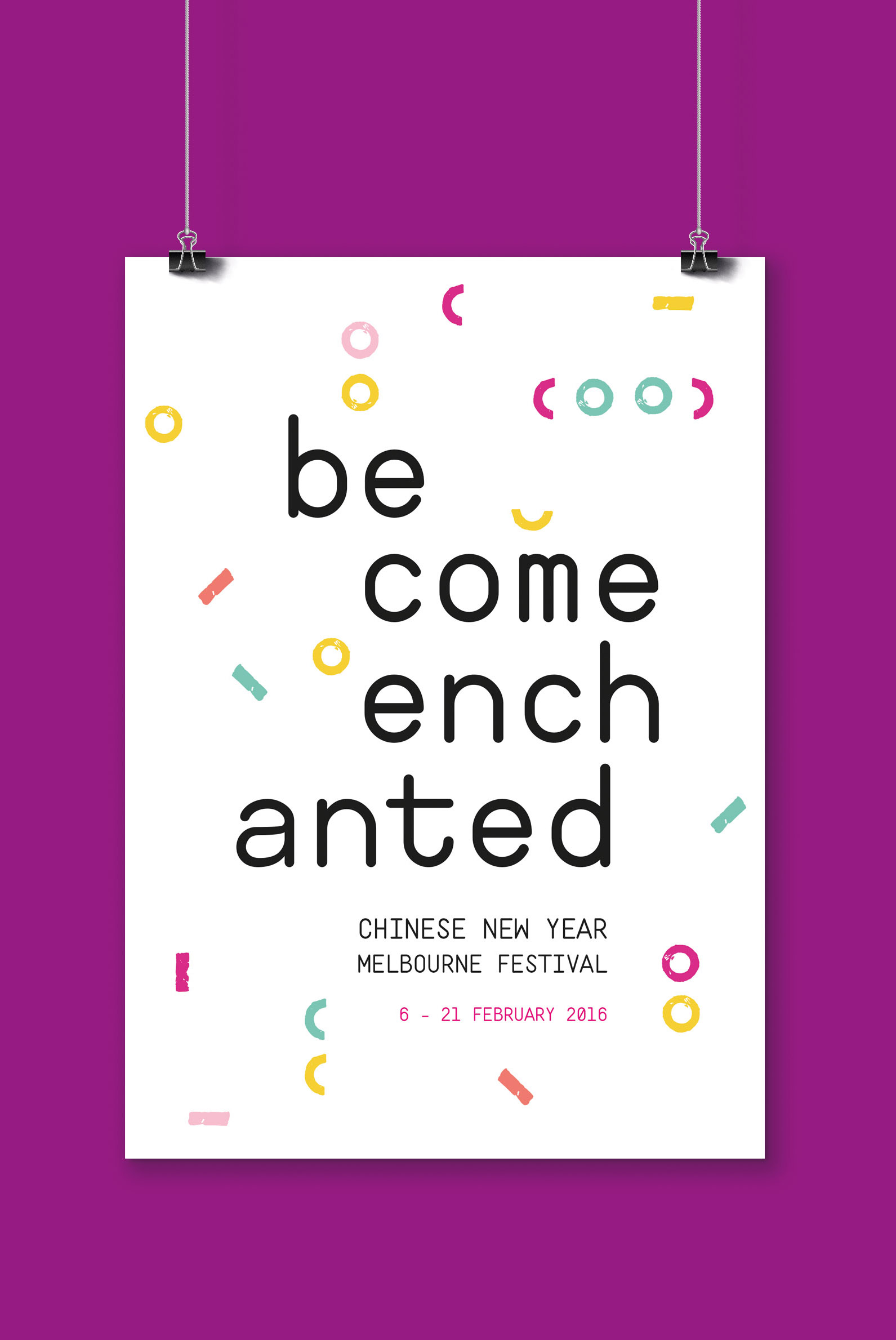 Poster Become Enchanted