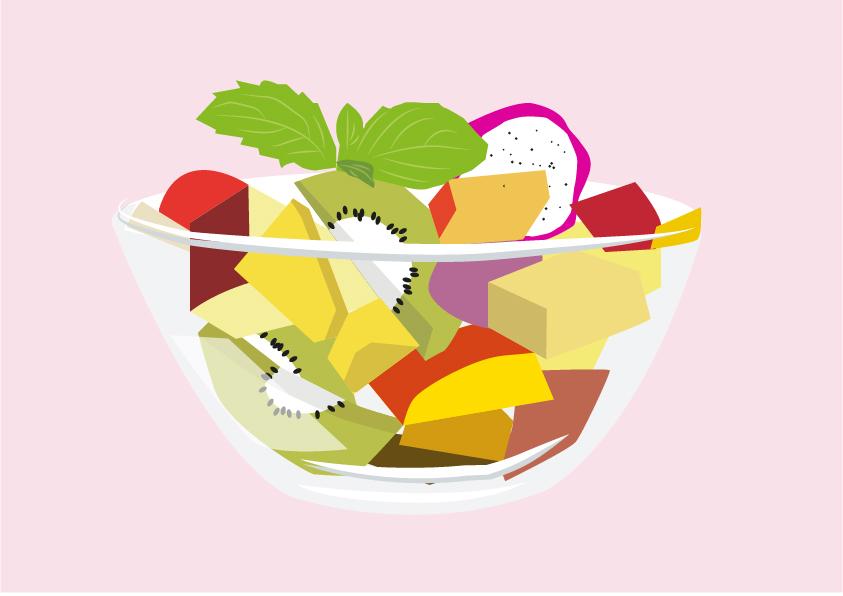 Illustrations EfE Fruit Salad