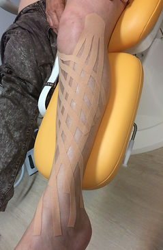 Kinesio taping contention