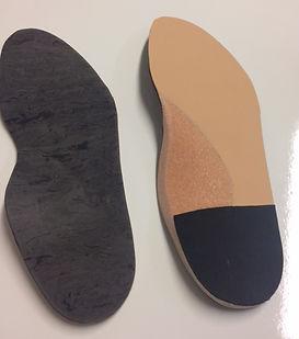 semelles orthopédiques thermoformées