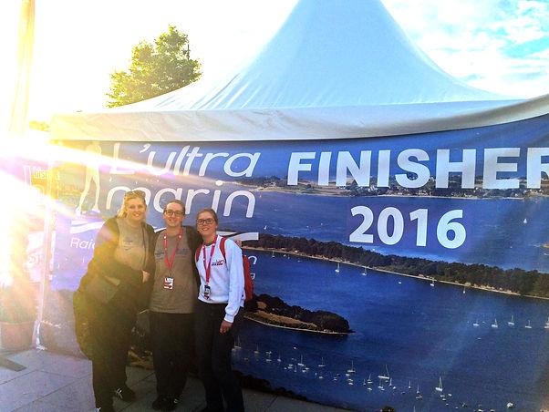 l'équipe Ultra Marin Morbihan