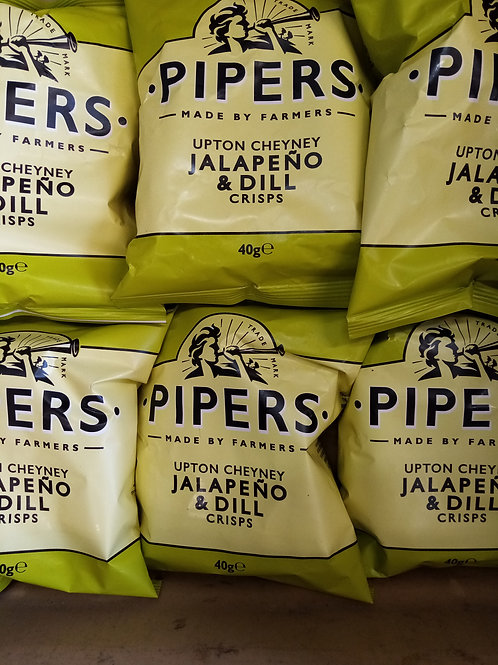 Pipers jalapeño and dill 6 pack