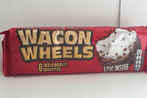 Wagon wheels 6pack red
