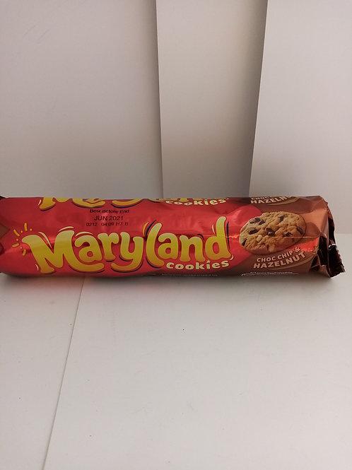 Maryland cookies choc chip and Hazelnut