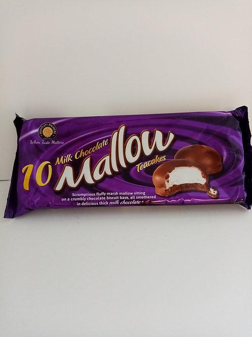 Milk Chocolate Mallow Teacakes