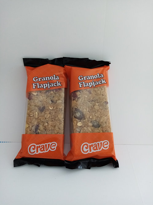 2 pack granola flapjacks