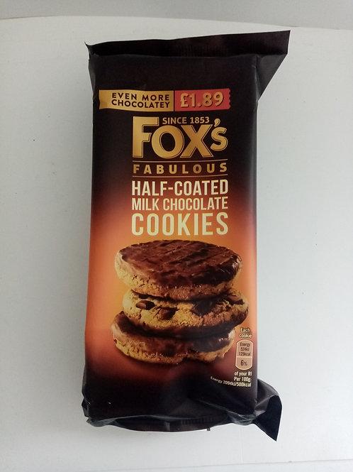 Fox's Half Coated Milk Chocolate Cookies