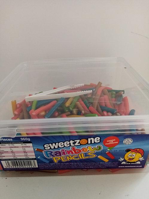 Sweet zone rainbow pencils