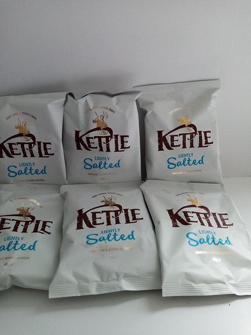 Kettle crisps lightly salted 6 pack