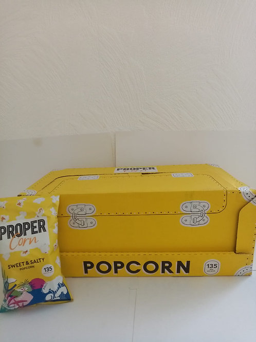 Proper corn sweet and salty box