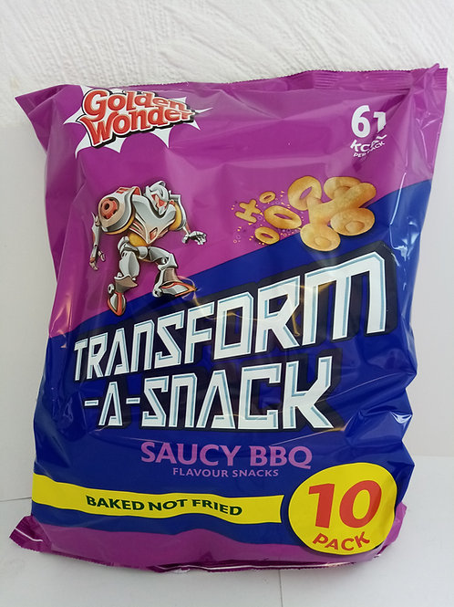 Saucy BBQ transform a snack
