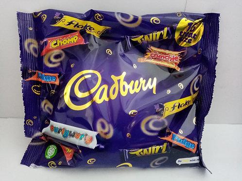 Cadburys treat size mix