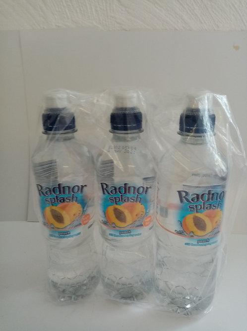 radnor splash water bottles peach
