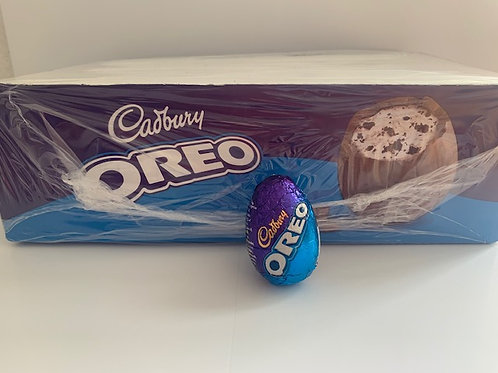 OREO cadbury eggs box.