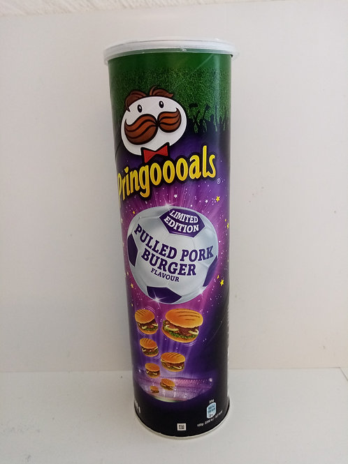 Pringles pulled pork burger flavour