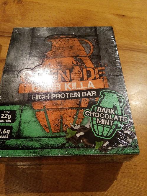 Box of grenade carb killa protein bars