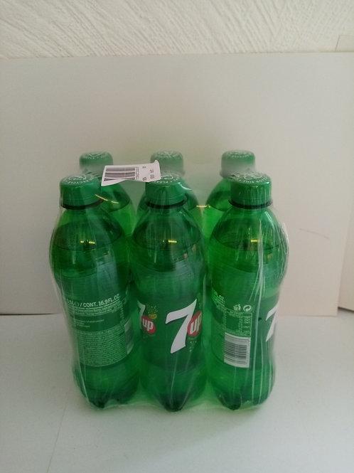 7up 500ml bottles 6 pack