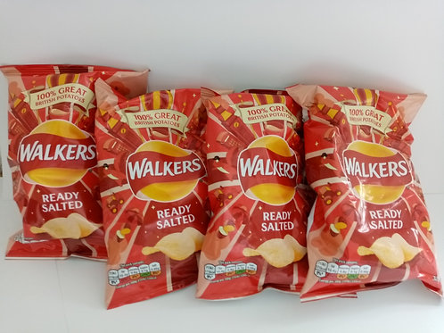 Walkers Ready Salted 4 pack clearance
