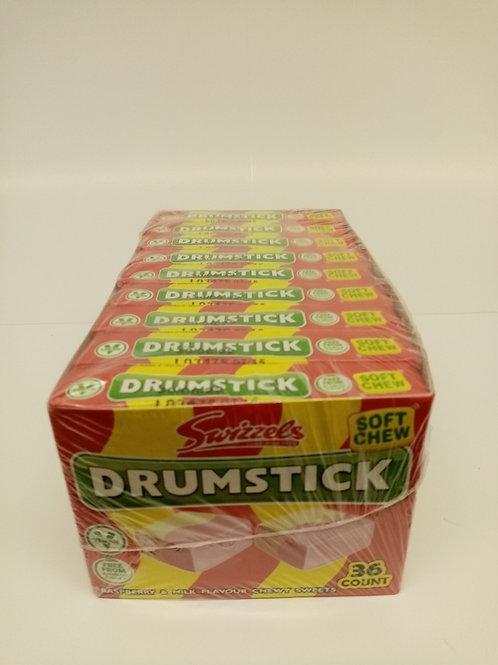 Swizzels Drumstick Soft Chews Raspberry & Milk Flavour