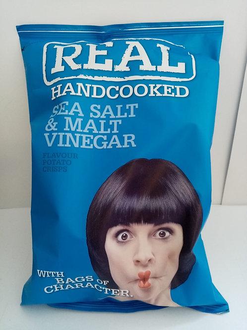 Real crisps 150g salt and vinegar