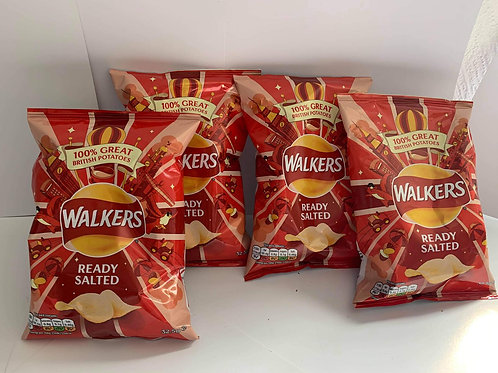 Walkers ready Salted 4 pack