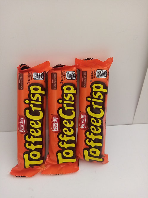 Toffee crisp 3 pack clearance