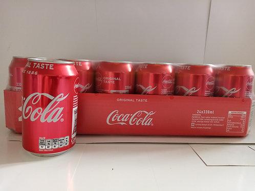 Coca cola 24 x 330ml cans