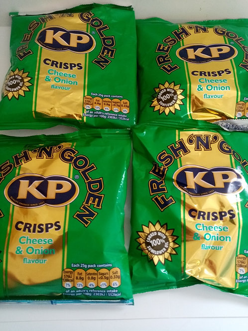 KP Cheese and Onion 4 pack clearance