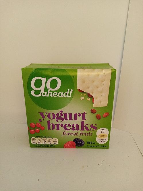 Go ahead yoghurt forest fruit