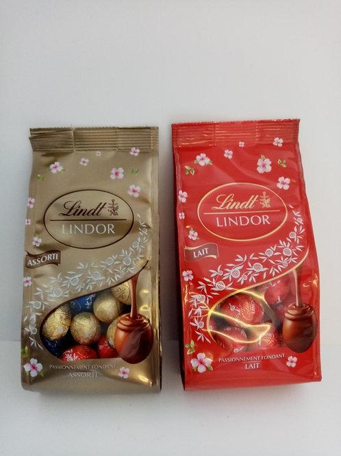 Lindt Lindor Eggs 1 x Milk 1 x Variety Pack