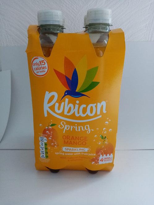 Rubicon orange and mango