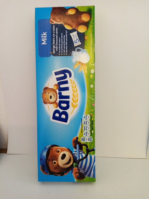 Barny 5 pack milk