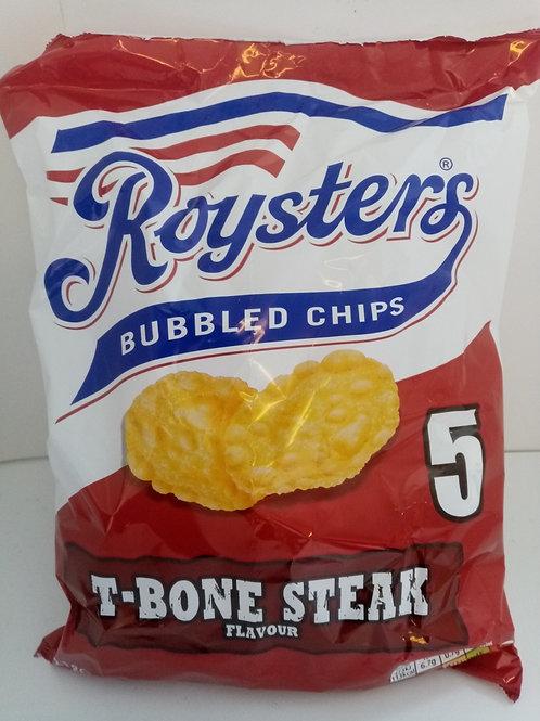 Roysters T-Bone Steak 5 pack