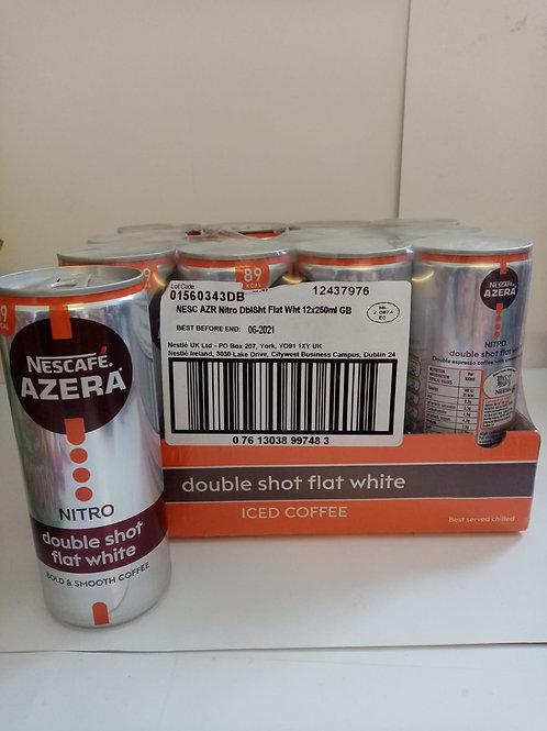 Nescafe azera nitro double shot flat white