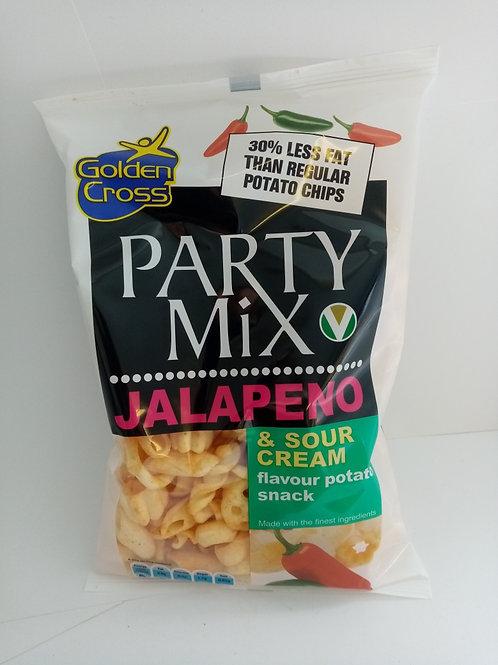 Golden Cross Party Mix Jalapeno & Sour Cream 125g