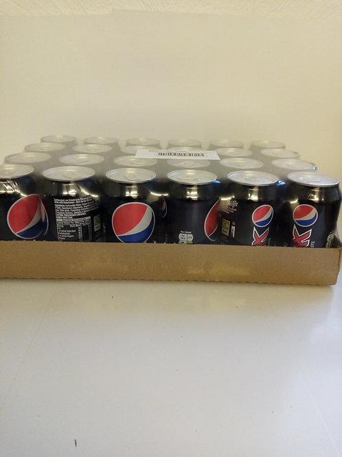 Pepsi max cans