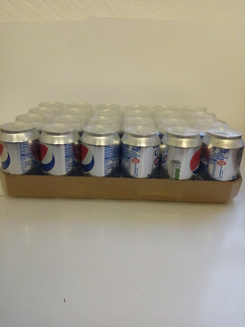 Diet pepsi 330ml cans