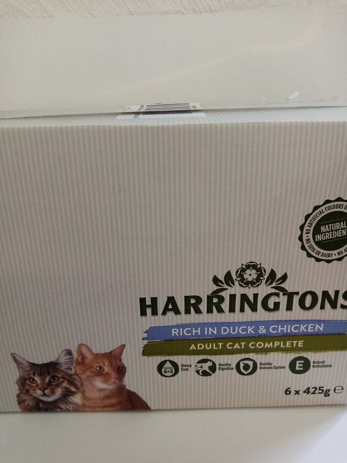 Haringtons duck and chicken 6x 425g