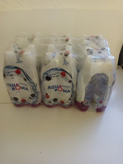 Aquaroma Forest fruits flavoured water 24 pack