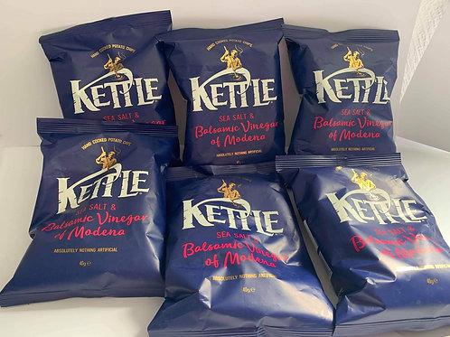 Kettle salt and vinegar 5 pack