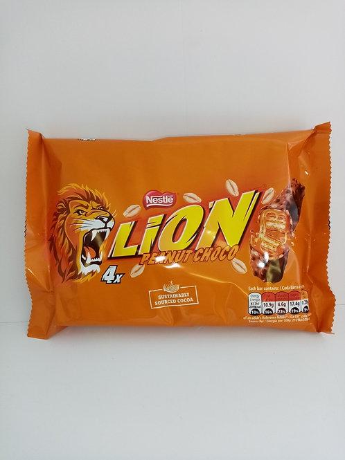 Lion Peanut Bars 4 pack