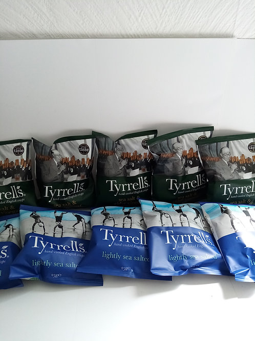 Tyrerrels mixed bag of 10 packs