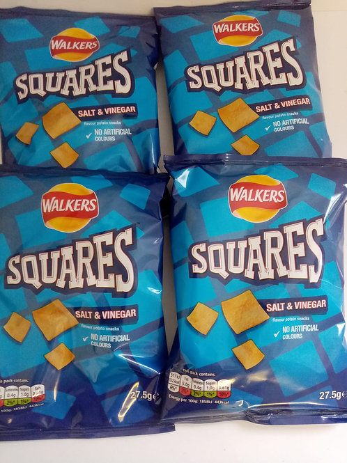Walkers Square 4 pack