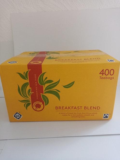 Traidcraft Breakfast Blend 400 Teabags