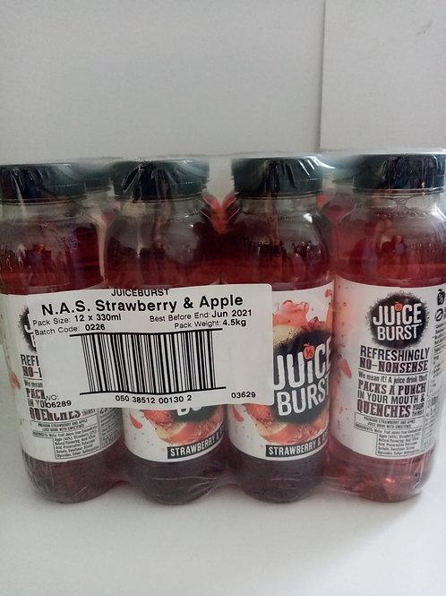 Juice burst strawberry and apple