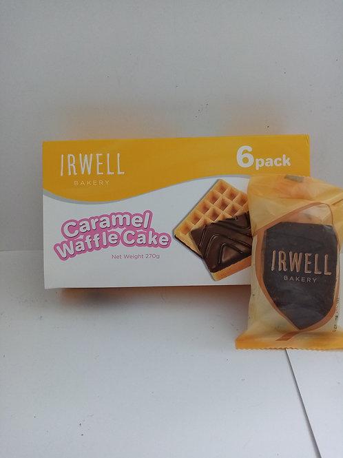 Irwell bakery caramel waffle cake