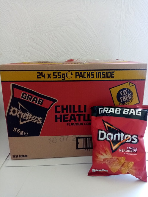 Doritos grab bags chilli heatwave