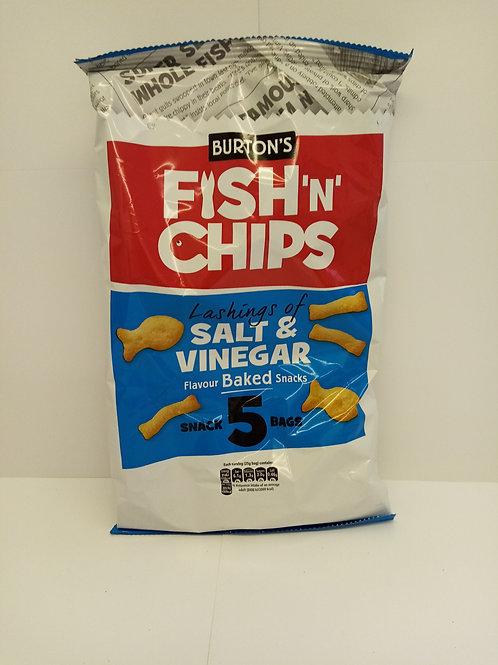 Burt's fish and chips multi pack