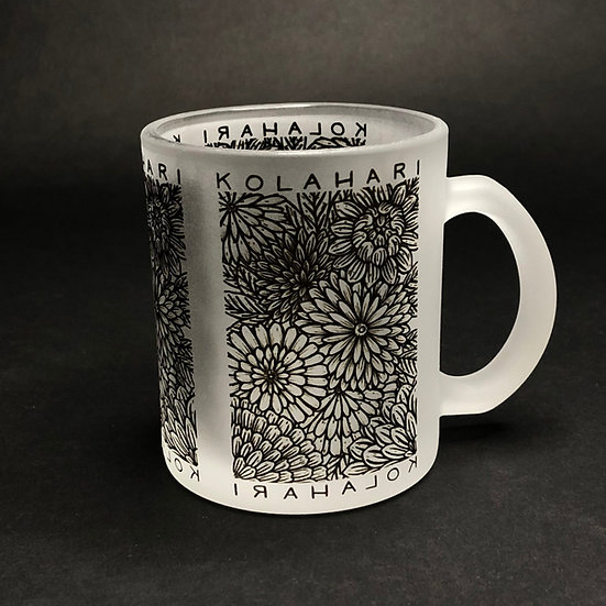 Kola Hari - 11oz - Chrysanthemum Frosted Mug